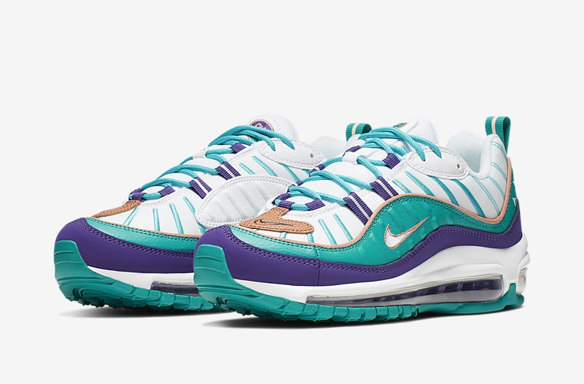 31f439601b NIKE BLUE/PURPLE AIR MAX 98 – AH6799-500